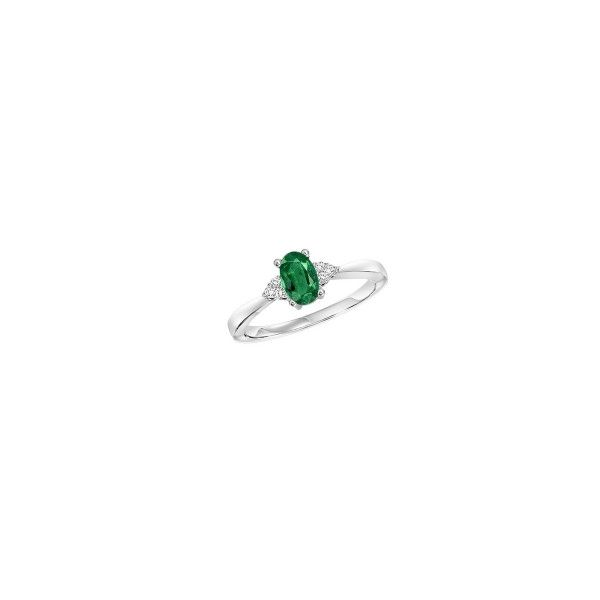 Emerald & Diamond Ring E.M. Smith Family Jewelers Chillicothe, OH