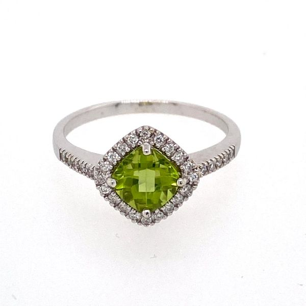 Peridot & Diamond Ring E.M. Family Smith Jewelers Chillicothe, OH