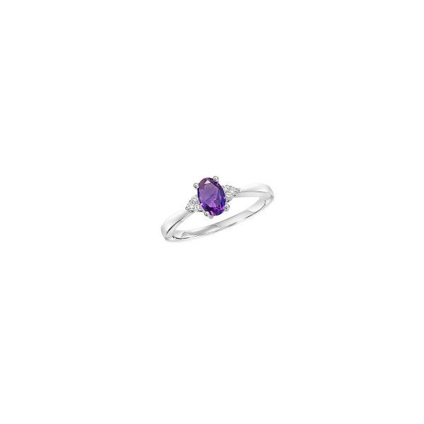 Amethyst & Diamond Ring E.M. Family Smith Jewelers Chillicothe, OH