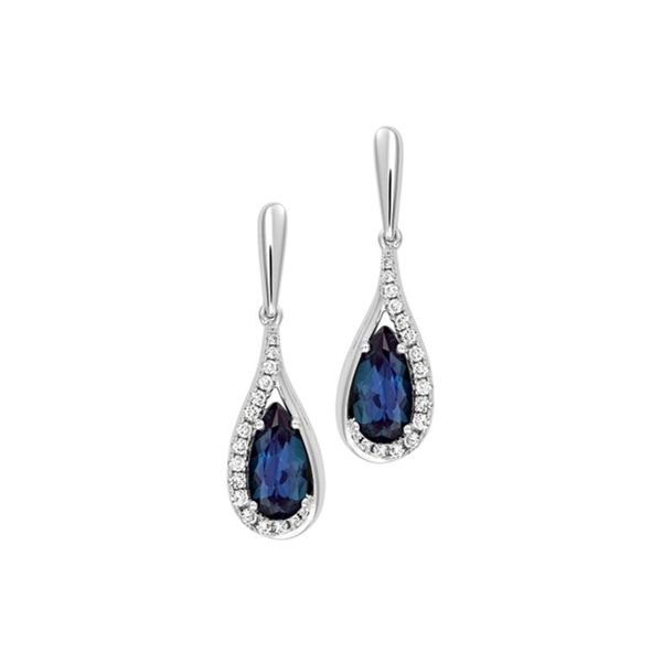 Chatham Alexandrite Earrings E.M. Family Smith Jewelers Chillicothe, OH