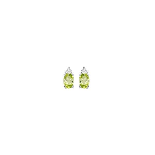 Peridot & Diamond Earrings E.M. Family Smith Jewelers Chillicothe, OH
