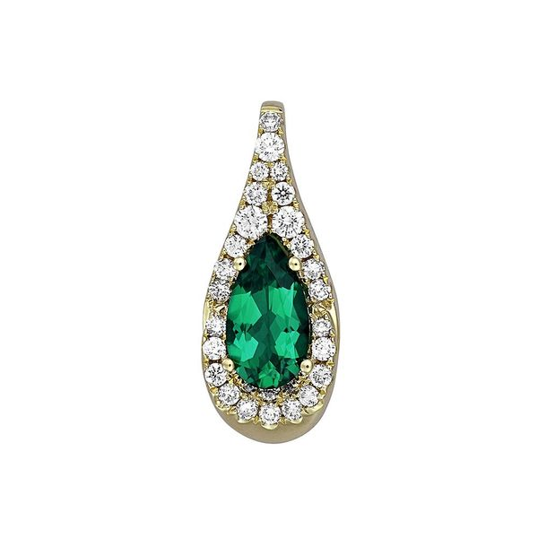 Chatham Emerald Pendant E.M. Family Smith Jewelers Chillicothe, OH