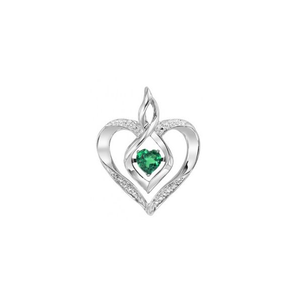 Rhythm of Love Created Emerald and Diamond Pendant E.M. Family Smith Jewelers Chillicothe, OH