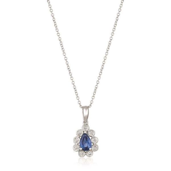 LeVian Blueberry Sapphire™ Pendant with Vanilla Diamonds® E.M. Family Smith Jewelers Chillicothe, OH