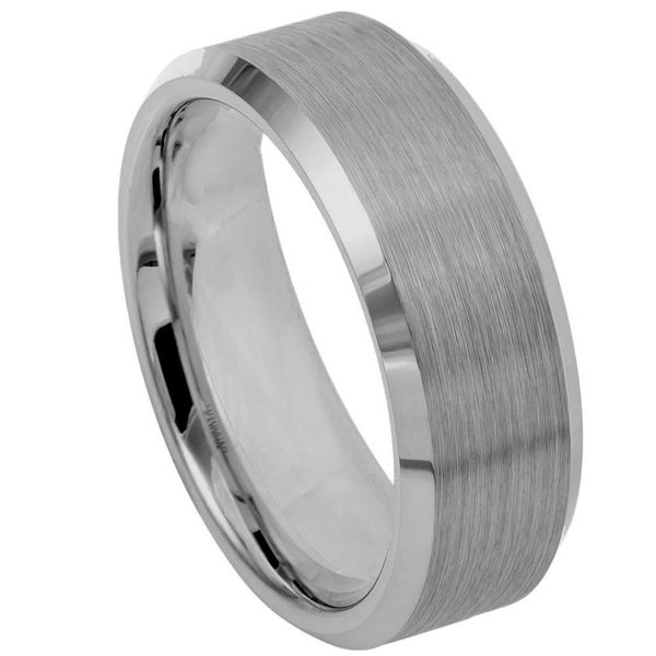 Tungsten Wedding Band E.M. Family Smith Jewelers Chillicothe, OH