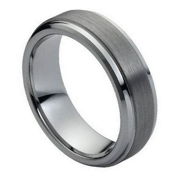 Tungsten Wedding Band E.M. Smith Family Jewelers Chillicothe, OH