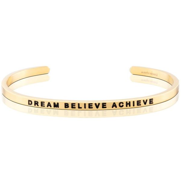 Dream Believe Achieve Bangle Bracelet E.M. Family Smith Jewelers Chillicothe, OH
