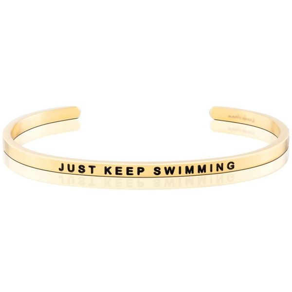 Just Keep Swimming Bangle Bracelet E.M. Family Smith Jewelers Chillicothe, OH