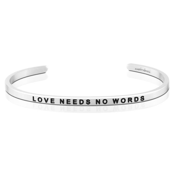 Love Needs No Words Bangle Bracelet E.M. Family Smith Jewelers Chillicothe, OH