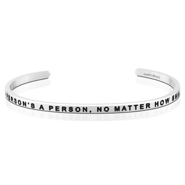 A Person's A Person, No Matter How Small Bangle Bracelet E.M. Smith Family Jewelers Chillicothe, OH