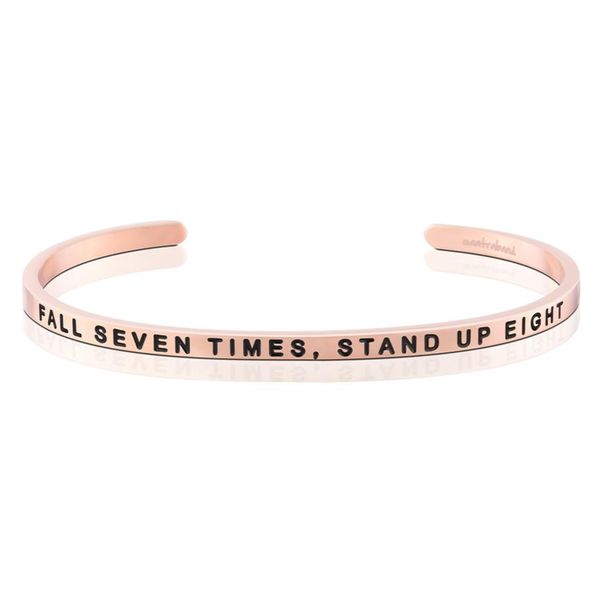 Fall Seven Times, Stand Up Eight Bangle Bracelet E.M. Smith Family Jewelers Chillicothe, OH