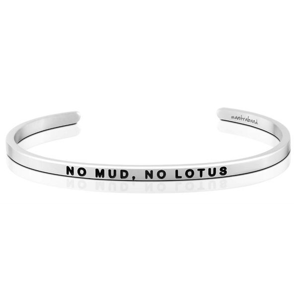 No Mud, No Lotus Bangle Bracelet E.M. Smith Family Jewelers Chillicothe, OH