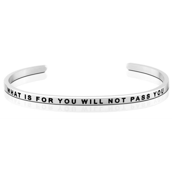 What Is For You Will Not Pass You Bangle Bracelet E.M. Family Smith Jewelers Chillicothe, OH