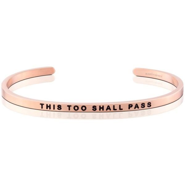 This Too Shall Pass Bangle Bracelet E.M. Smith Family Jewelers Chillicothe, OH
