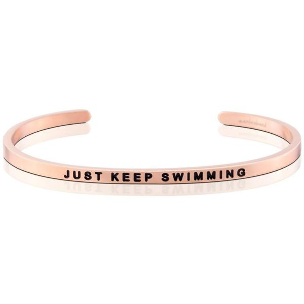 Just Keep Swimming Bangle Bracelet E.M. Smith Family Jewelers Chillicothe, OH