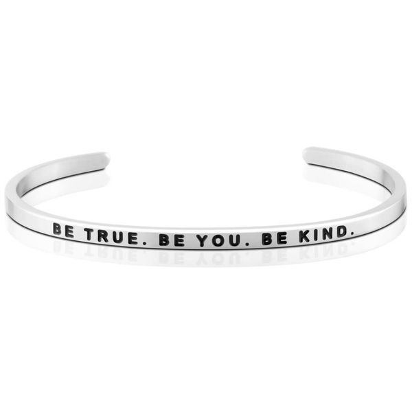 Be True. Be You, Be Kind Bangle Bracelet E.M. Smith Family Jewelers Chillicothe, OH