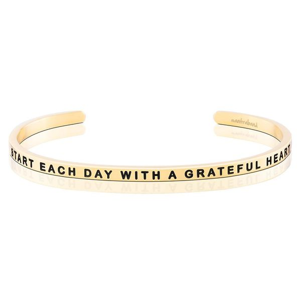 Start Each Day With A Grateful Heart Bangle Bracelet E.M. Smith Family Jewelers Chillicothe, OH