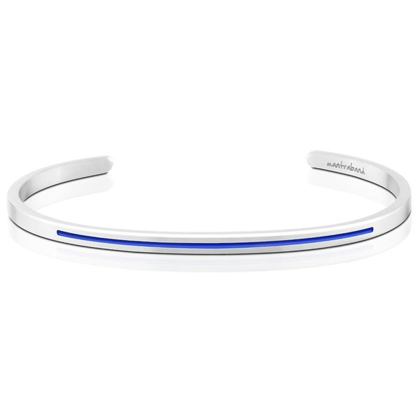 Police Hero Charity Band Bangle Bracelet E.M. Smith Family Jewelers Chillicothe, OH
