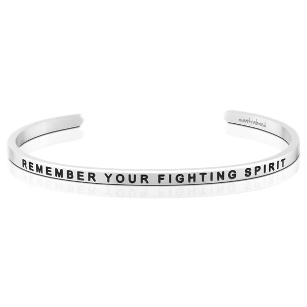 Remember Your Fighting Spirit Bangle Bracelet E.M. Smith Family Jewelers Chillicothe, OH