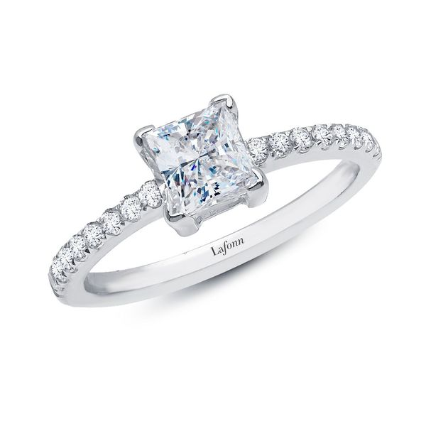Lafonn Engagement Ring E.M. Family Smith Jewelers Chillicothe, OH