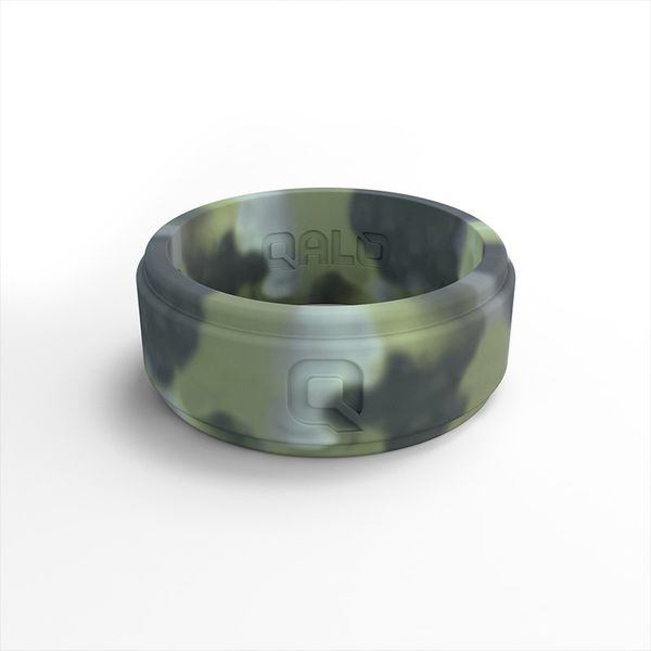 QALO Men's Camo Silicone Ring. Size 11.0 E.M. Family Smith Jewelers Chillicothe, OH