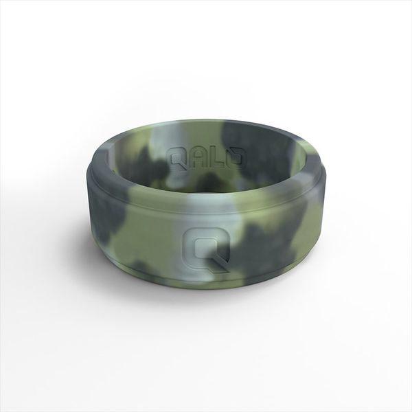 QALO Men's Camo Silicone Ring. Size 13.0 E.M. Family Smith Jewelers Chillicothe, OH