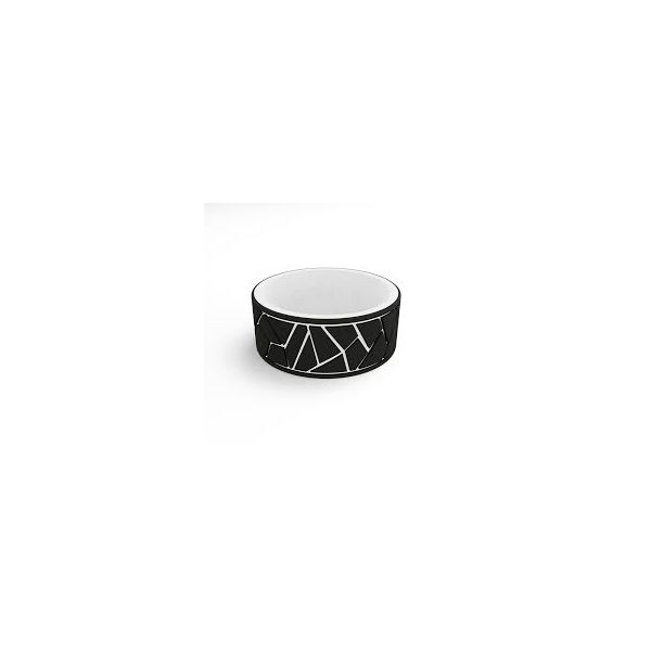 QALO Standard Men's Strata Reversible Black/White Dale Earnhart Silicone Ring. Size 11.0 E.M. Family Smith Jewelers Chillicothe, OH