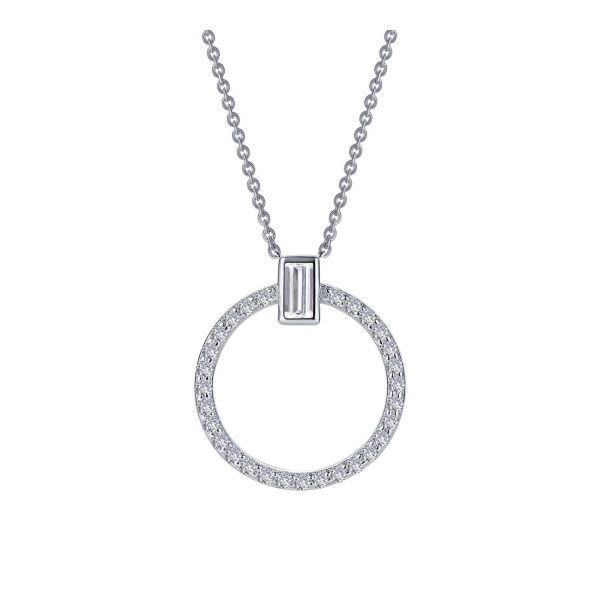 Open Circle Necklace E.M. Family Smith Jewelers Chillicothe, OH