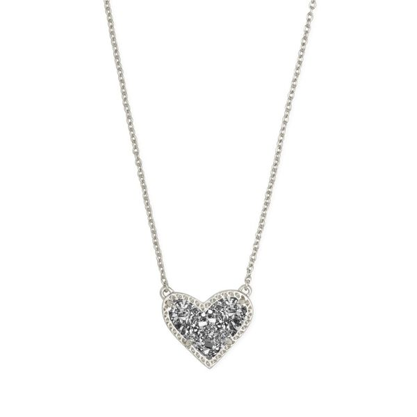 Kendra Scott Ari Heart Necklace E.M. Family Smith Jewelers Chillicothe, OH