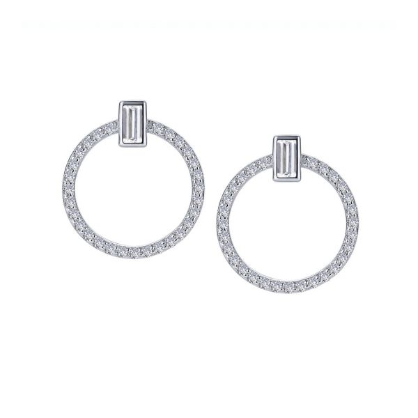 Open Circle Drop Earrings E.M. Family Smith Jewelers Chillicothe, OH