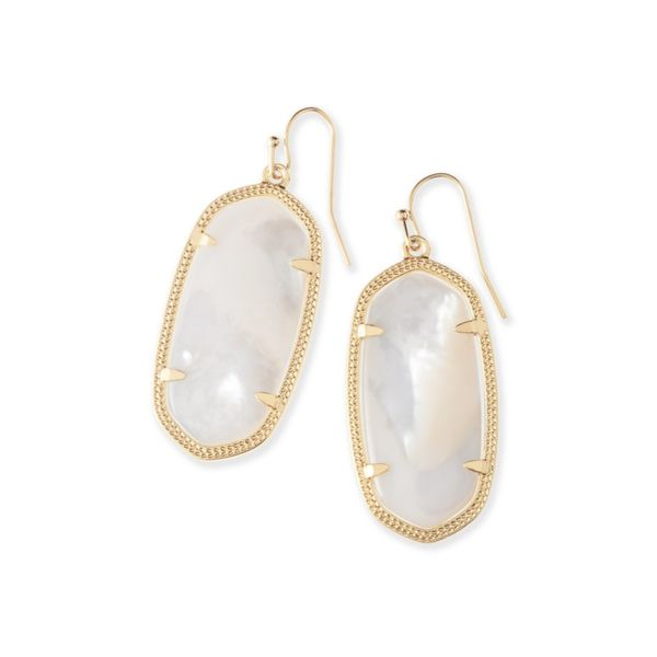 Kendra Scott Elle Gold Drop Earrings E.M. Smith Family Jewelers Chillicothe, OH