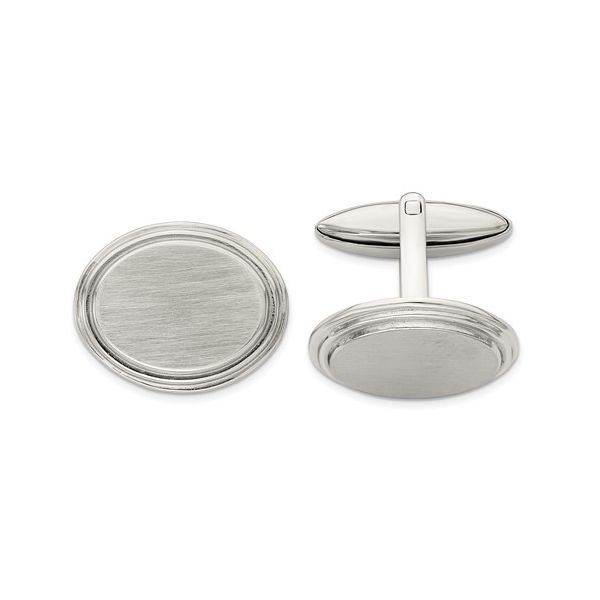 Stainless Steel Cufflinks E.M. Family Smith Jewelers Chillicothe, OH