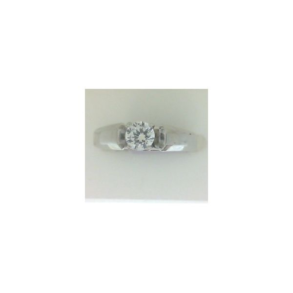 Cathedral Solitaite engagement ring Image 2 Enhancery Jewelers San Diego, CA