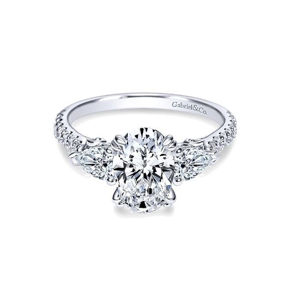 Gabriel & Co  ER9048   engagement ring Enhancery Jewelers San Diego, CA