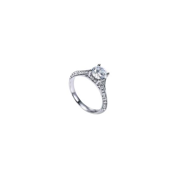 Gabriel ER6286 14K White Gold  Diamond Engagement Ring Enhancery Jewelers San Diego, CA