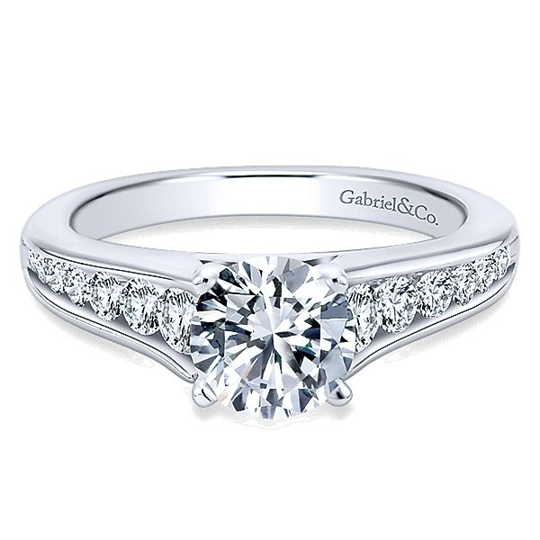 Gabriel ER6664 Lady's Diamond Engagement Ring Enhancery Jewelers San Diego, CA