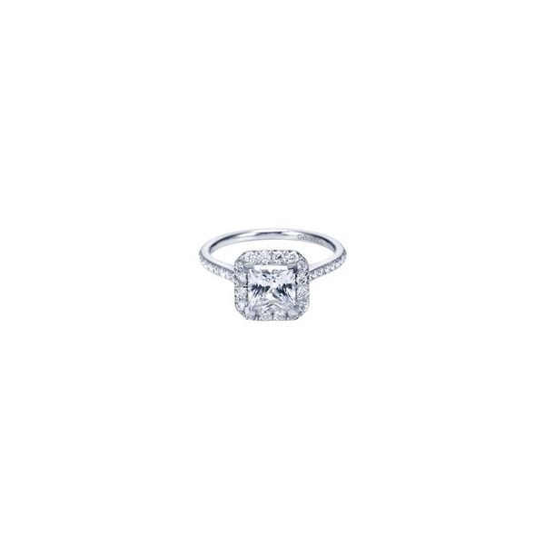 GABRIEL & CO ER7266 14K White Gold Engagement Ringt Enhancery Jewelers San Diego, CA