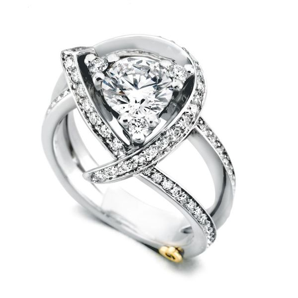 MARK SCHNEIDER LUXURY  15330 DIAMOND ENGAGEMENT RING Enhancery Jewelers San Diego, CA
