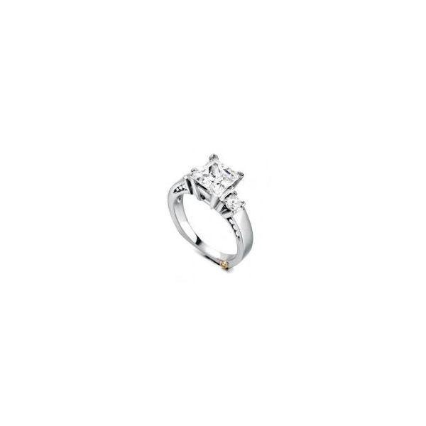MARK SCHNEIDER DESIGN ALLURING    Ladies 14k White Gold Diamond engagement ring Enhancery Jewelers San Diego, CA