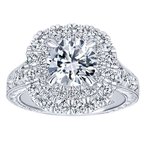 GabrielER11984 14K White Gold Engagement Ring Enhancery Jewelers San Diego, CA