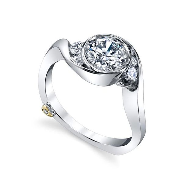 MARK SCHNEIDER CELESTIAL 17620 Ladies 14k White Gold Diamond  Engagement Ring Enhancery Jewelers San Diego, CA