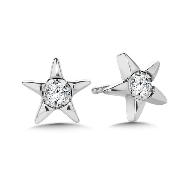 star earrings Enhancery Jewelers San Diego, CA