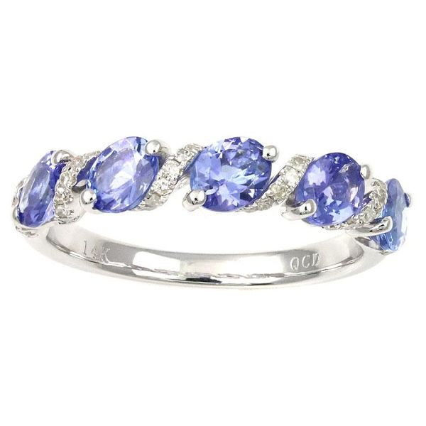 Tanzanite Ring Enhancery Jewelers San Diego, CA