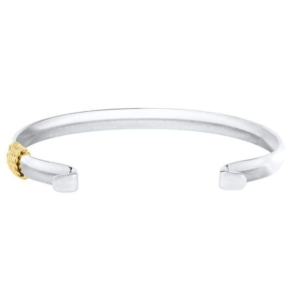 Silver and Gold Convertible bangle Bracelet Enhancery Jewelers San Diego, CA