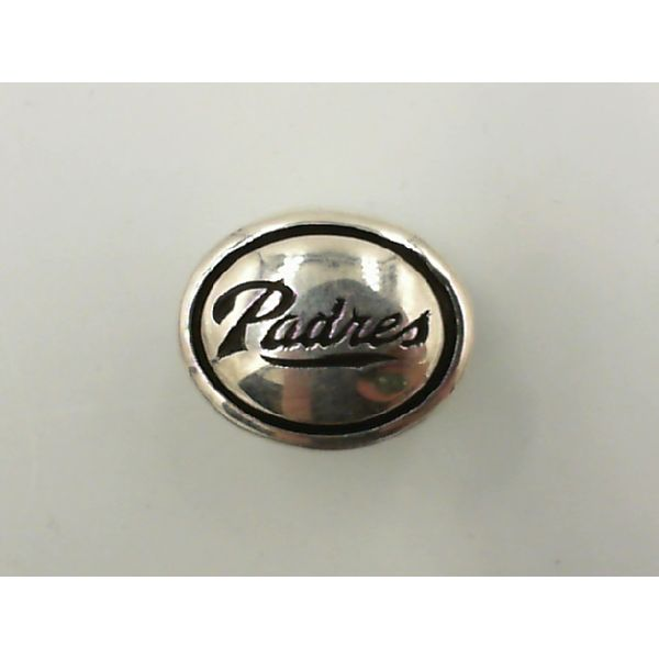 Sterling silver Padres  charm Enhancery Jewelers San Diego, CA