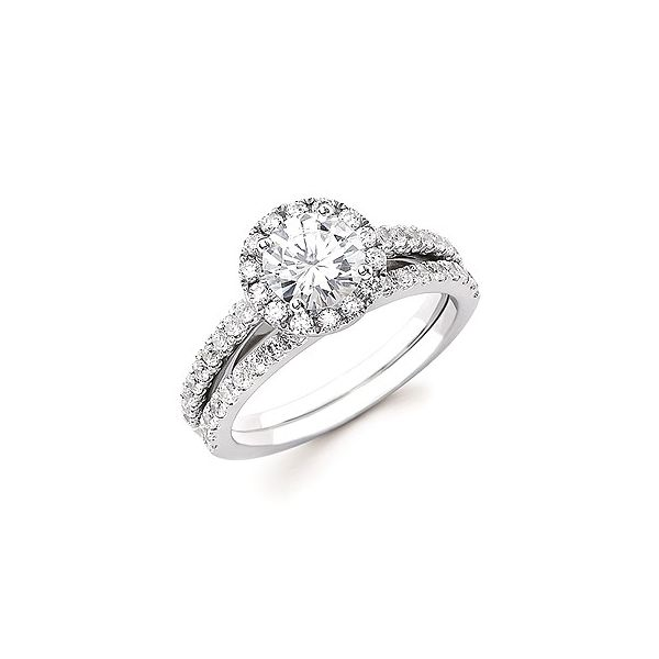 WHITE GOLD DIAMOND ENGAGEMENT RING Erickson Jewelers Iron Mountain, MI