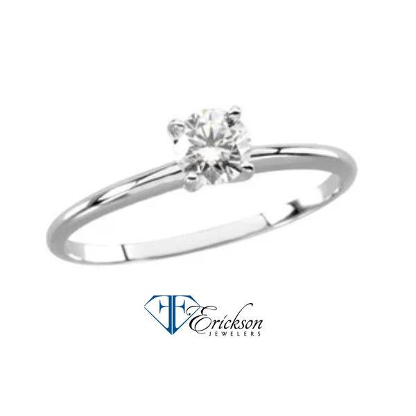 DIAMOND SOLITAIRE Erickson Jewelers Iron Mountain, MI