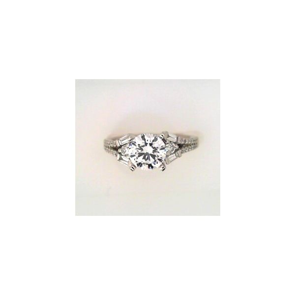 DIAMOND ENGAGMENT MOUNTING Erickson Jewelers Iron Mountain, MI