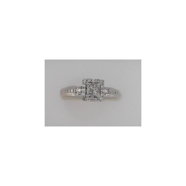 WHITE GOLD ENGAGEMENT RING Erickson Jewelers Iron Mountain, MI