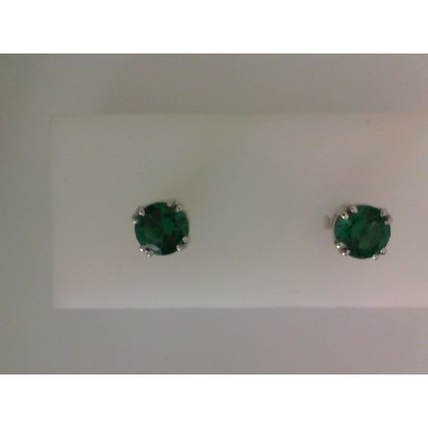 LC EMERALD EARRINGS Erickson Jewelers Iron Mountain, MI